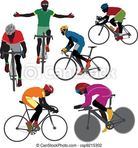 Ciclistas - csp9215302