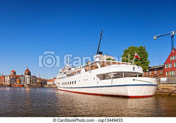 cidade, gdansk - csp13449433