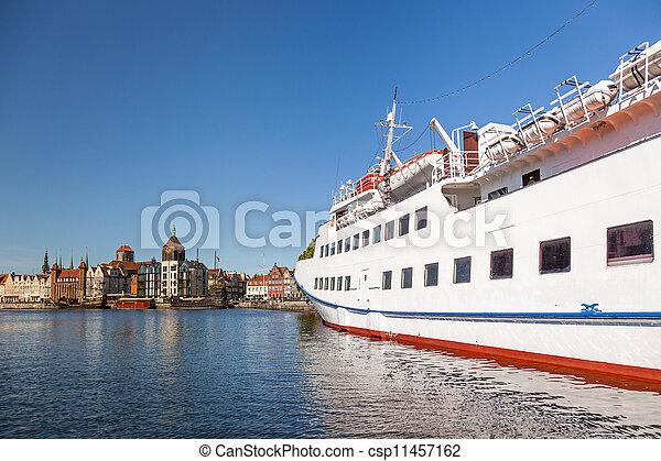 cidade, gdansk - csp11457162
