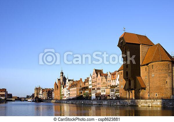 cidade, gdansk - csp8623881