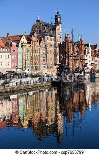 cidade, gdansk - csp7636799