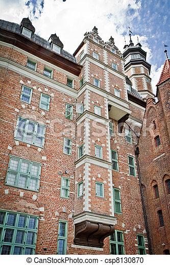 cidade, histórico, gdansk - csp8130870