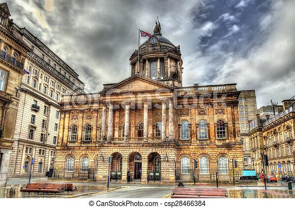 Cidade Liverpool Inglaterra Reino Unido Corredor Canstock