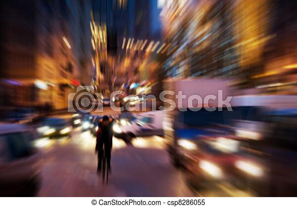 cielna, życie, miasto - csp8286055