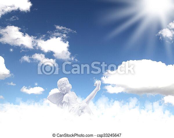 cielo, ángeles - csp33245647