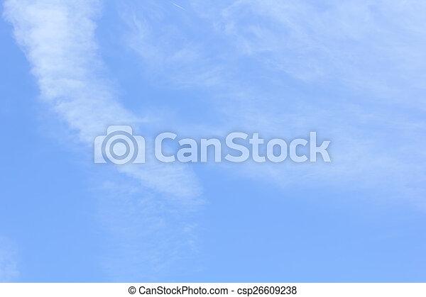 Nubes con cielo azul - csp26609238