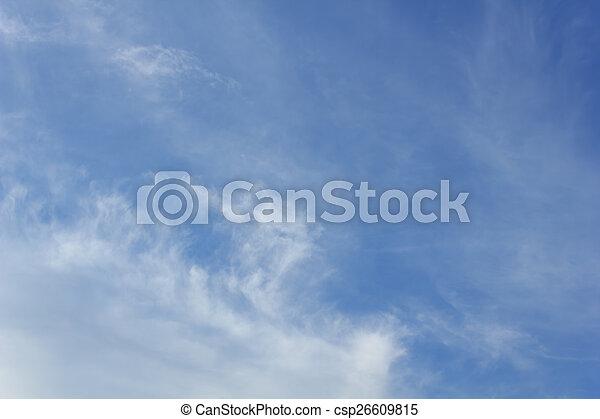 Nubes con cielo azul - csp26609815