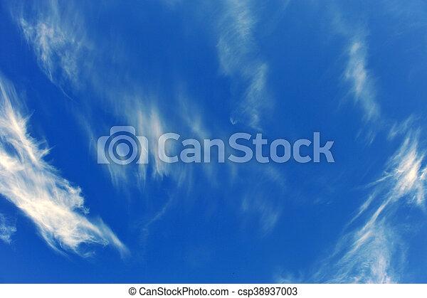 cielo azul, plano de fondo - csp38937003