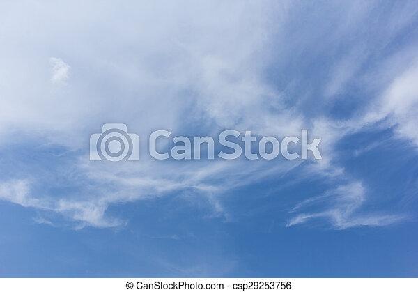 Fondo del cielo hermoso - csp29253756