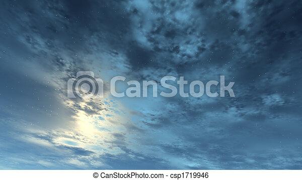 cielo blu - csp1719946