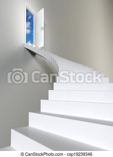 Escaleras al cielo - csp19239346