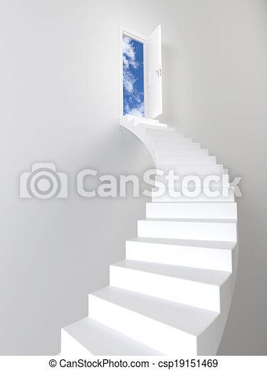 Escaleras al cielo - csp19151469