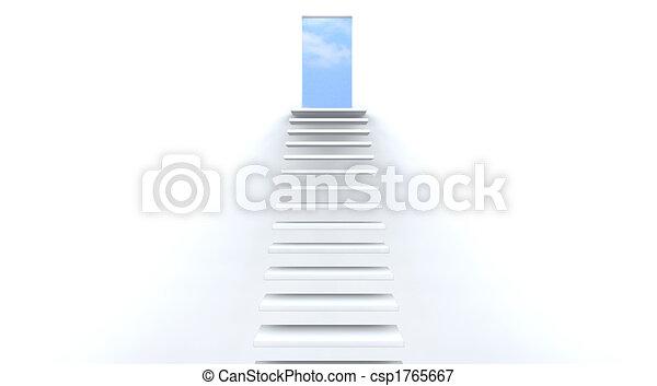 Escaleras al cielo - csp1765667