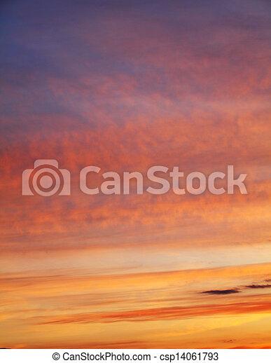 cielo, fondo - csp14061793