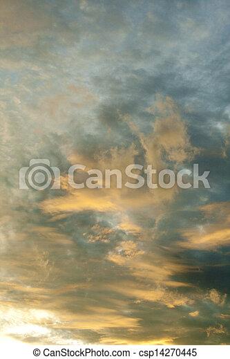 cielo, fondo - csp14270445