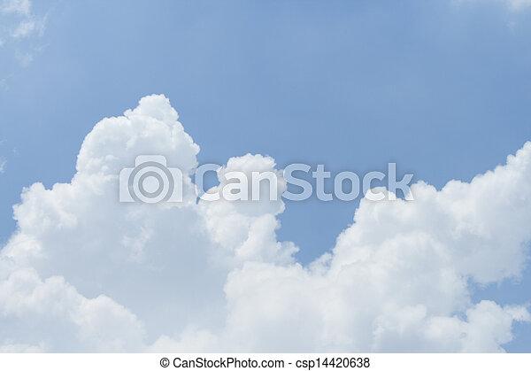 cielo, fondo - csp14420638