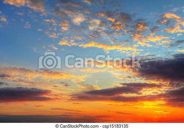cielo, fondo - csp15183135