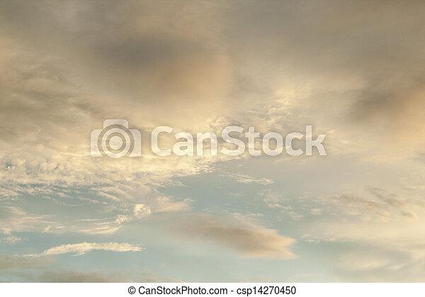 cielo, fondo - csp14270450