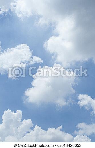 cielo, fondo - csp14420652