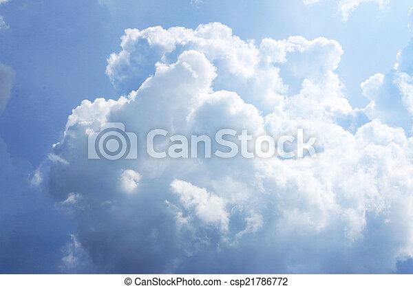 cielo, fondo - csp21786772