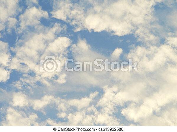 cielo, fondo - csp13922580