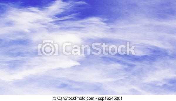 cielo, fondo - csp16245881