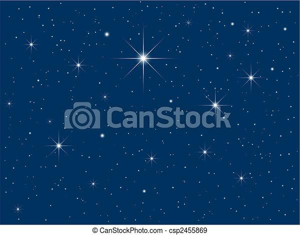 cielo, noche - csp2455869