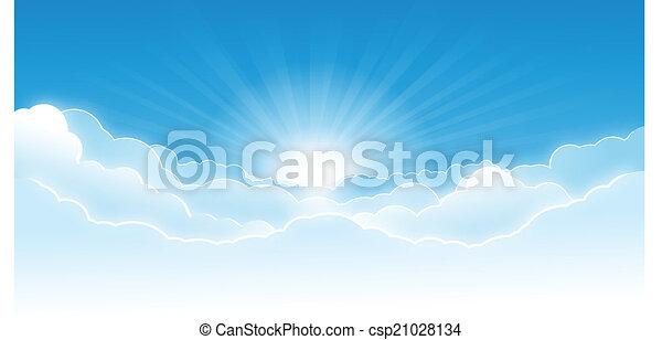 cielo, nubi - csp21028134