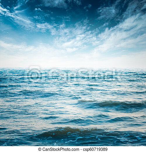 cielo, océano - csp60719389
