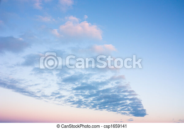 cielo tramonto - csp1659141