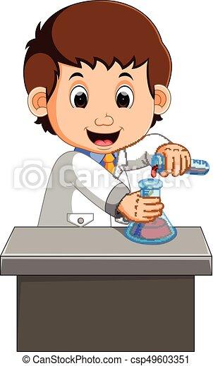 cientista trabalhando laboratório laboratório cientista
