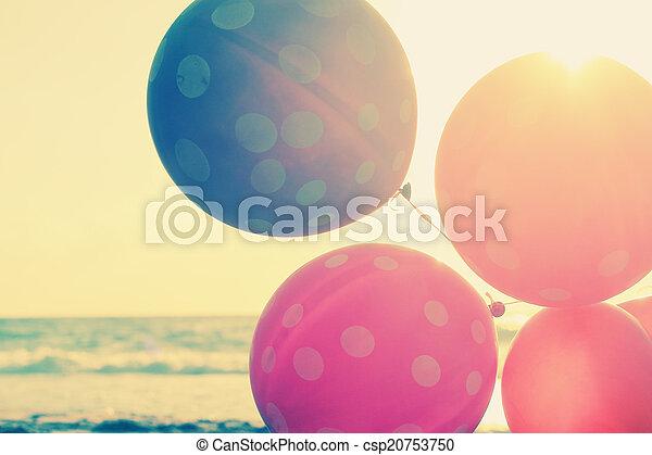 cierre, globos, arriba - csp20753750