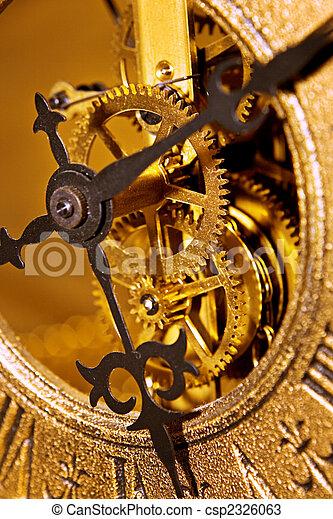 El viejo reloj cierra la vista - csp2326063
