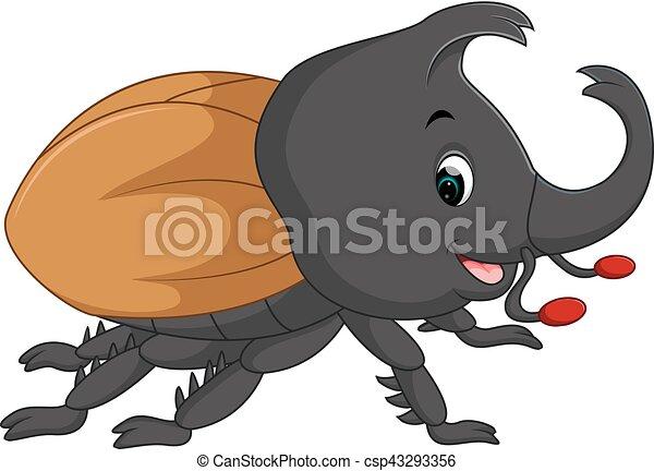 Escarabajo De Ciervo Ilustración De Escarabajo Ciervo