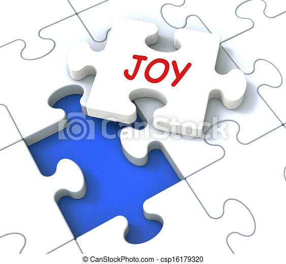 cieszyć się, radość, zagadka, radosny, zabawa, widać, radosny, szczęśliwy - csp16179320