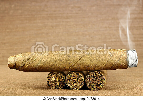 cigar burned - csp19478014