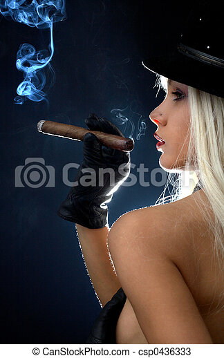 cigar girl #2 - csp0436333