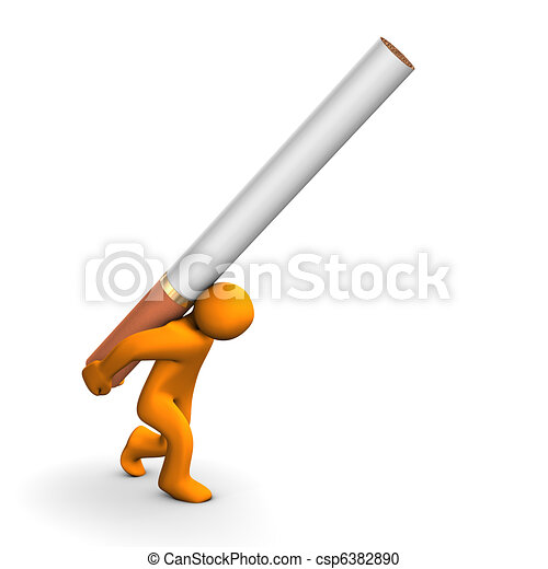 Cigarette Addiction - csp6382890