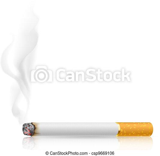 Cigarette burns - csp9669106