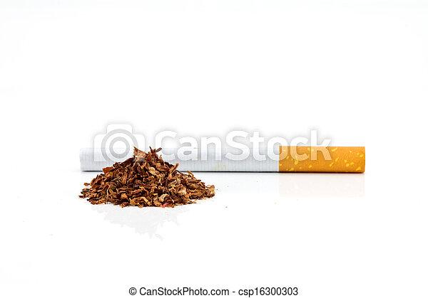 Cigarette butt  - csp16300303