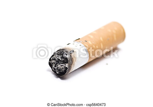 Cigarette butt  - csp5640473