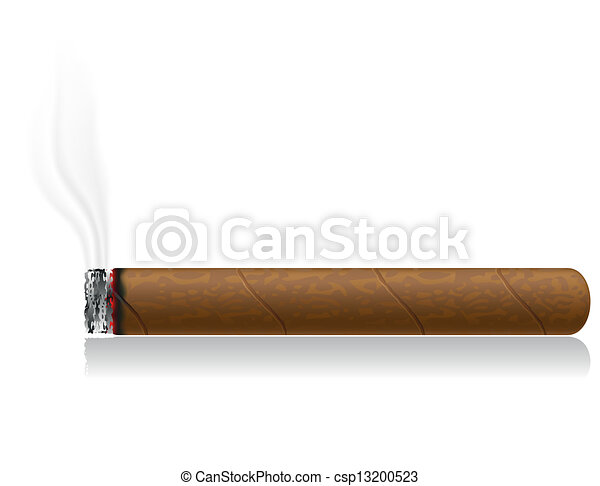 cigars vector illustration isolated - csp13200523
