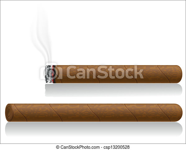 cigars vector illustration isolated - csp13200528