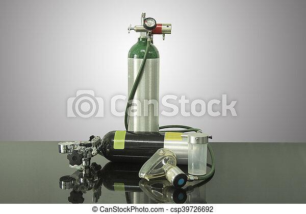cilinder, zuurstof - csp39726692