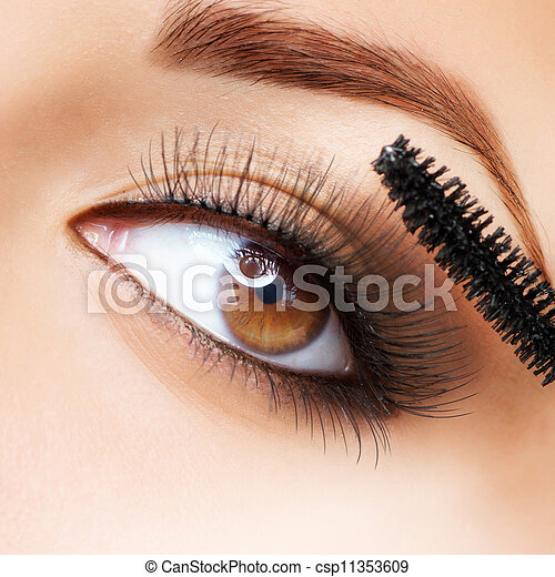 cils demande makeup mascara long make up. Black Bedroom Furniture Sets. Home Design Ideas