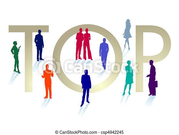 Gente importante - csp4942245