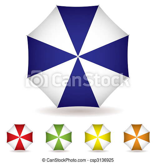 Coleccion de Umbrella - csp3136925