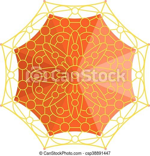 Una ilustración de vectores de primera vista. - csp38891447