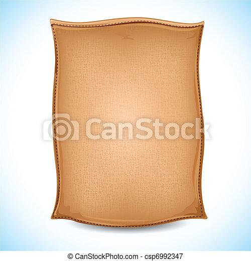 ciment, sac - csp6992347