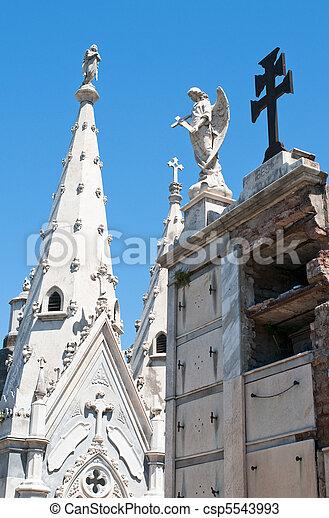 cimetière, recoleta, buenos aires - csp5543993